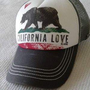 😎Billabong snap-back CALIFORNIA LOVE hat 😎